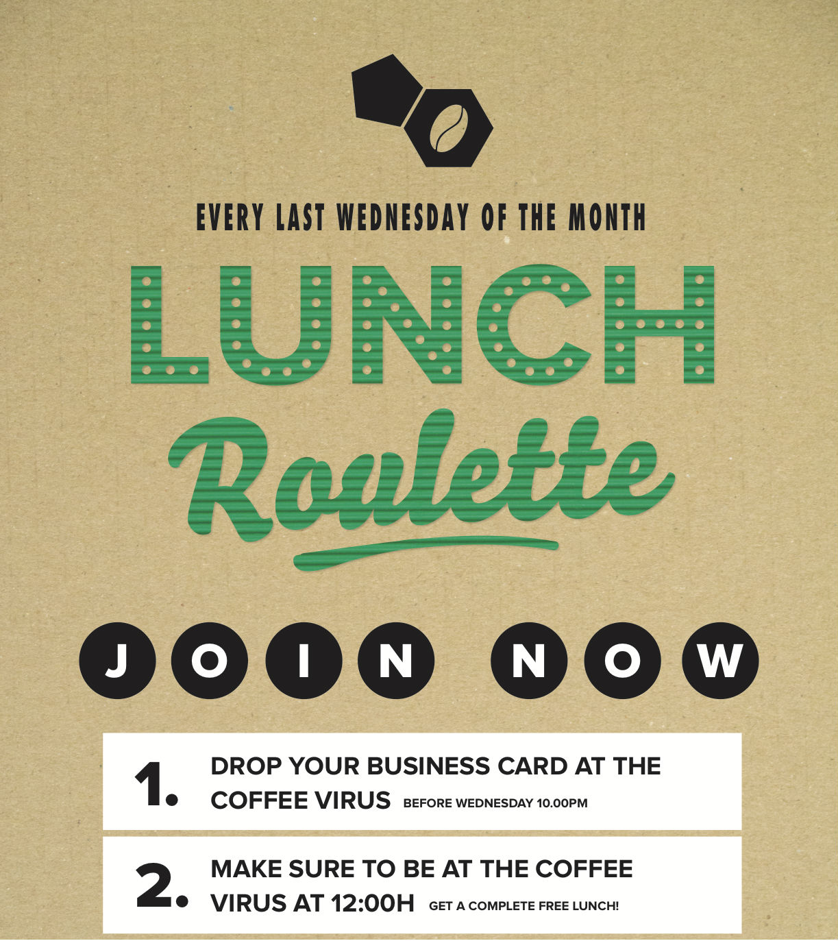 Monthly Lunch Roulette | A Lab
